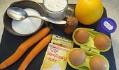 Mrkvová roláda s vůní pomeranče