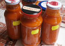 Omáčka z rajčat (sugo pomodoro)
