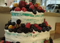 Svatebni naked cake