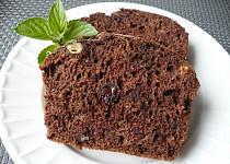 Cuketový chlebíček s čokoládou a ořechy