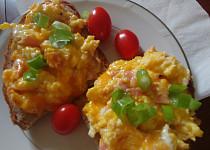 Horká vaječná pomazánka