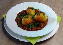 Smažená vejce na nepálský způsob
