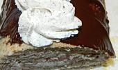 Bílková roláda s kávovou šlehačkou