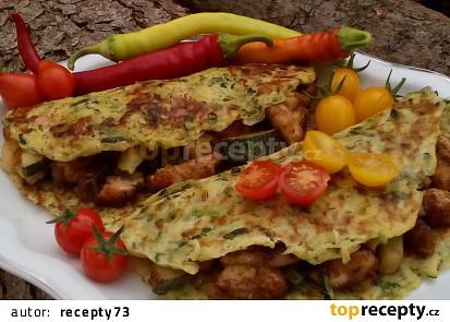 Cuketové tortilly (placky) - bez mouky
