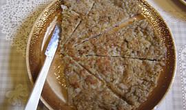 Houbovo-bramborová placka