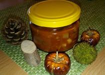 Směs na topinky s houbami a cuketou