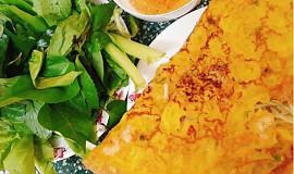 Bánh xèo (Vietnamská vaječná placka)