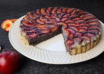Makový koláč s blumami (bez mouky)