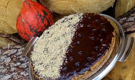 Píchaná dýňová buchta (koláč) s ořechy nebo kokosem