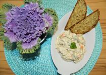Salát z pýchavky na způsob rybího salátu
