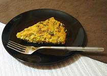 Špenátový fitness koláč z quinoy