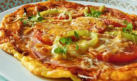 Sýrový koláč à la pizza