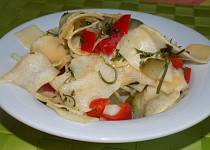 Salát ze syrové tykve