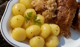 Bramborové knedlíčky / noky ze dvou ingrediencí