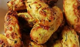 Bramborovo-sýrové krokety