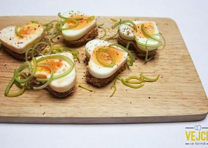 Vajíčkové jednohubky