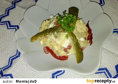 Bramborový salát s Kunovjankou