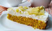 Dýňový dort bez mouky (dia)