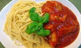 Kuřecí kousky v rajčatové omáčce
