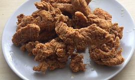 Kuřecí stripsy z KFC (bez cornflaku)