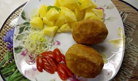 Obalené sýrové vejce