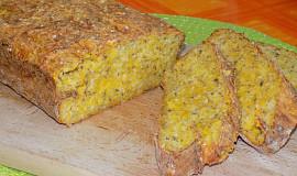 Dýňový chléb se sýrem