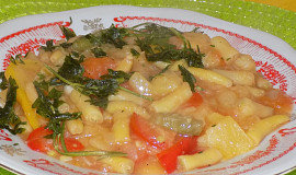 Fazolkový guláš se zeleninou