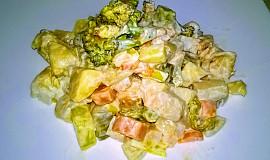 Freesh bramborový salát s brokolicí