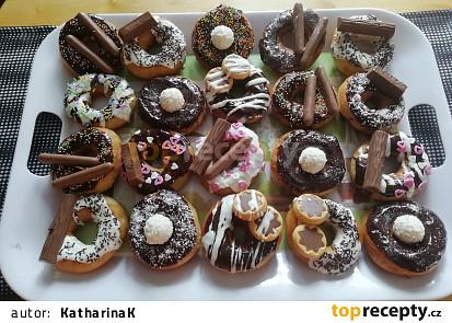 Smažené koblihy/donutky