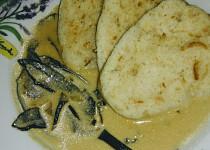 Houbová omáčka ze sušených hub a smetany