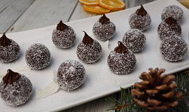 Nepečené čokoládovo-kokosové kuličky s Nutellou