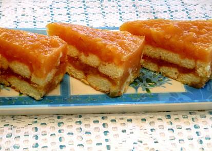 Vanilkovo jablecny dort,ktery se nepece