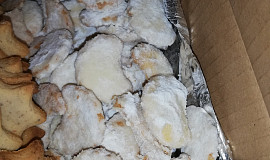 Vanilkovo-mandlové rohlíčky