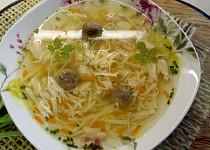 Davídkova nudlová polévka