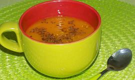 Dýňová polévka s batáty