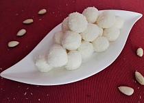Kokosové kuličky - nepečené