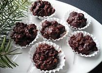 Nepečené višně v čokoládě
