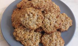 Ovesné sušenkové placičky