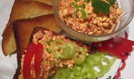 Pomazánka z cottage cheese s paprikou