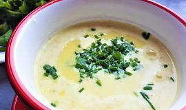 Sýrová polévka s kukuřicí