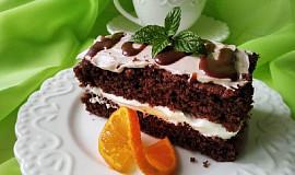 Čokoládový dezert s pomerančem