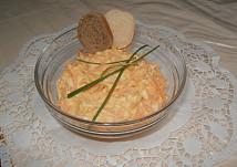 Mrkvový salát s vejci