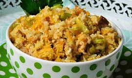 Rýžová směs (aneb co se zbylou rýží)