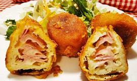 Smažené bramborové koule