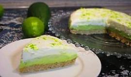 Avokádovo - limetkový cheesecake