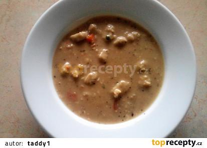 Drožďová polévka s nočky