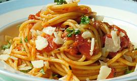 Jednoduché špagety Marinara