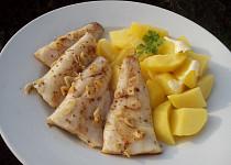 Máslový candát s kmínem a česnekem