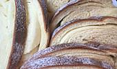 Mikulášský máslový závin