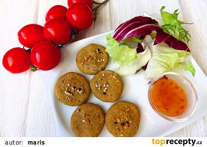 Pikantní sušenky z čočkové mouky